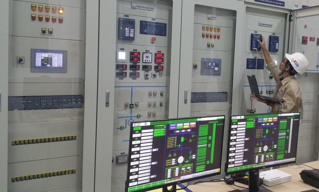Hệ thống điều khiển bảo vệ, đo lường và giám sát.