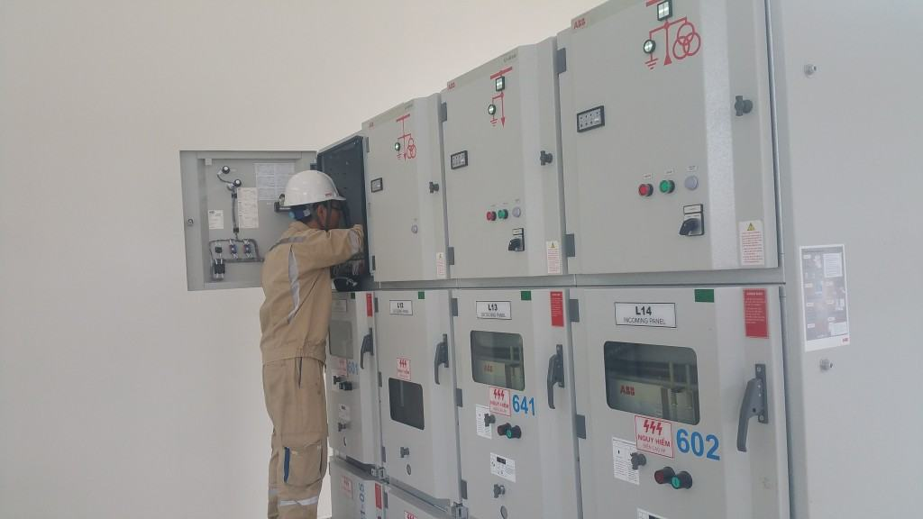 Hệ thống tủ cấp điện máy phát 6,3kV