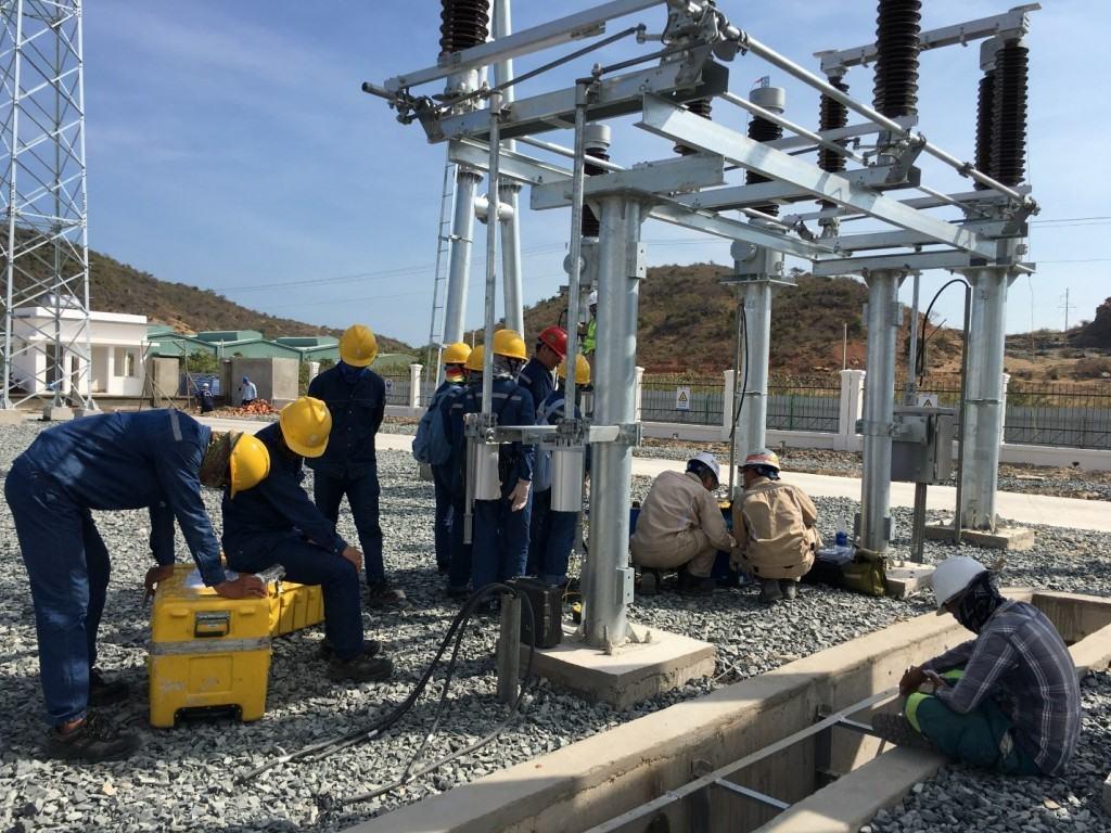 Thí nghiệm hiệu chỉnh thiết bị nhất thứ sân trạm 110 kV